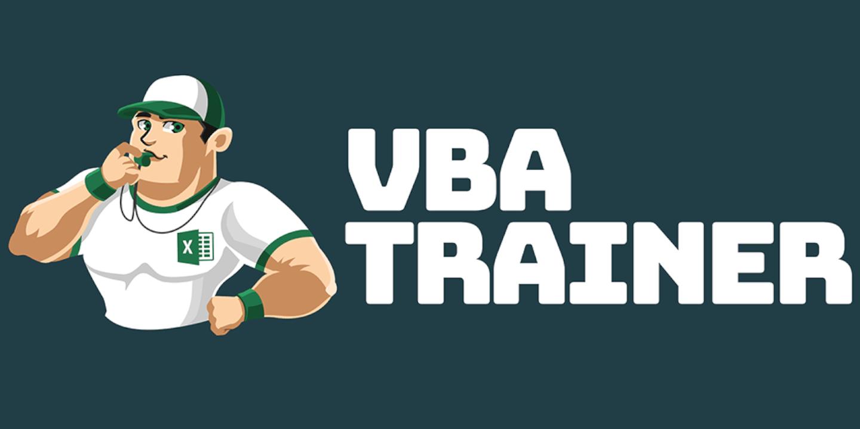 VBATrainer Logo - Excel VBA Coaching