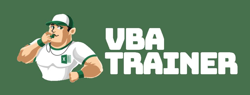 VBATrainer Excel VBA Coaching - Logo